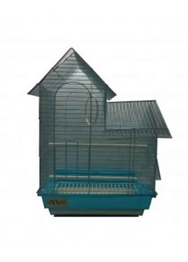 All4Pets Bird Cage Wire white blue pink
