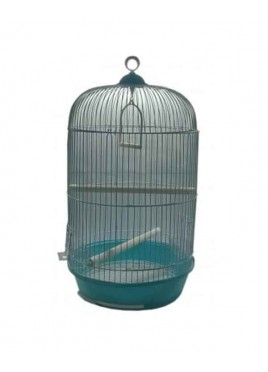 All4Pets Bird Cage Wire white Pan Blue Yellow