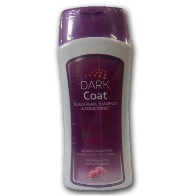 All4pets Dark Coat Shampoo 200 ml