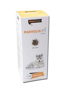 All4pets Parvolix Pv Drops For Dogs and Cats Parvo Virus Treatment 100ml