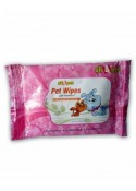 All4pets Pet Wipes With Vitamin E Helps Cleanse Skin and  Coat (10 wet wipes)