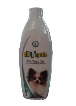 All4pets Tea Tree Oil Anti-Dandruff Shampoo 500 ml