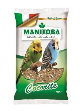 Manitoba Mixture Of Budgies Cocorite Birds Food 1Kg