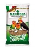 Manitoba Mixture Of Parakeet Inseparabili & Calopsiti Food 1Kg