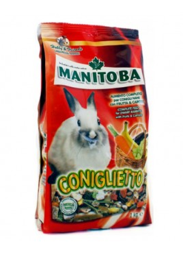 Manitoba Coniglietto Mixture Of Rabbit Food 1kg
