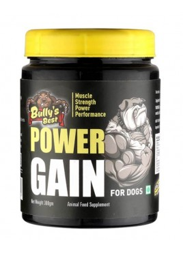 All4pets Bullys Best Power Gain Dog Supplement 300 gm