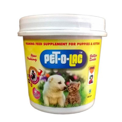 All4pets Stage-2 Pet-O-Lac Supplement 400 Gm