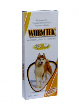 All4pets Worm-Tek Tablet 20 tabs