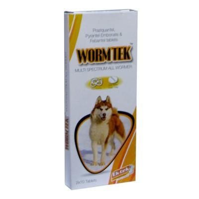 All4pets Worm-Tek Tablet 20 tabs