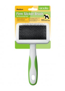 Andis Firm Slicker Large Brush Pet Grooming and De-Shedding Tool