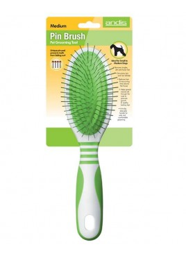 Andis Pin Brush Pet Grooming Tool Medium