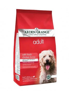 Arden Grange Fresh Chicken And Rice Adult Dog Food 12kg