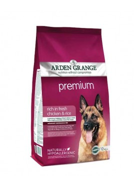 Arden Grange Premium Chicken & Rice Adult Dog Food 12 Kg