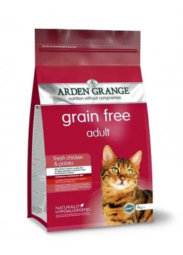 Arden Grange Grain Free Fresh Chicken And Potato Adult Cat Food - 2 Kg