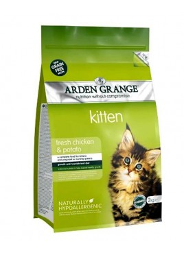Arden Grange Fresh Chicken & Potato Grain Free Food for Kitten - 2 kg