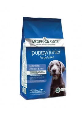 Arden Grange Puppy Junior Chicken Rice Large Breed Dog Food 12 Kg