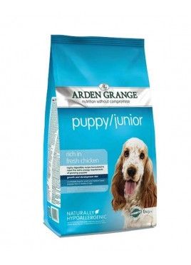 Arden Grange Puppy Junior Fresh Chicken Small And Medium Breed Food 6 Kg
