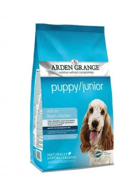 Arden Grange Puppy Junior Fresh Chicken Small And Medium Breed Food 12 Kg