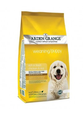 Arden Grange All Breeds Weaning Puppy Food With Chicken & Rice 15 kg