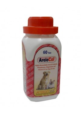 Areionvet Areio Cal Cat Or Dog 60 Tablets
