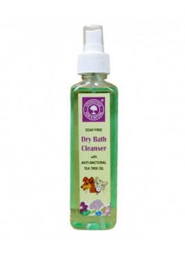 Aromatree Antibacterial Dry Bath Cleanser For Dog, Cat 240 ml