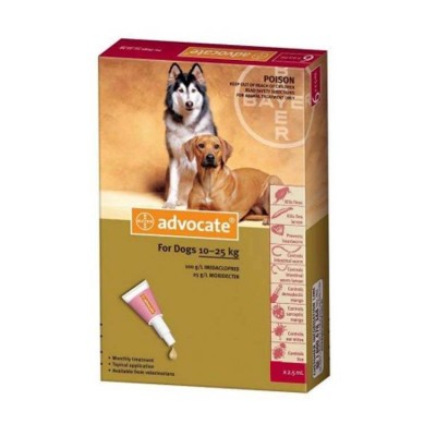 Bayer Advocate Spot-on 2.5 ml For 10-25 kg