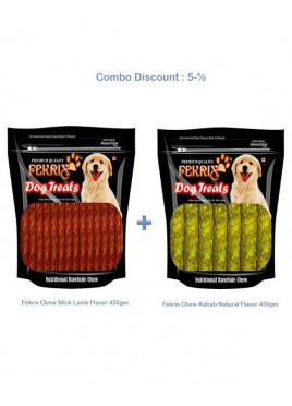 Fekrix Chew Stick and kabab 450+450 gm