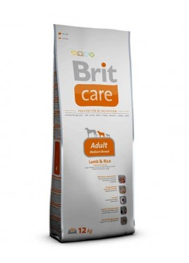 Brit Care Dry Dog Food for Adult Medium Breed 12 Kg