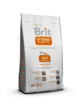 Brit Care Dry Dog Food for Adult Medium Breed 3 Kg