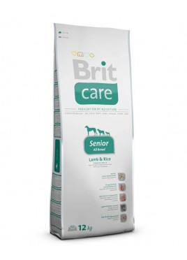 Brit Care Lamb & Rice Adult Senior Dry Dog Food 12 Kg