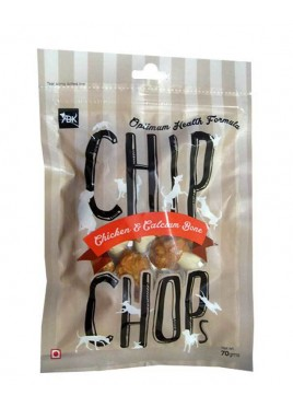 Chip Chops Treats Chicken And Calcium Bone 70g