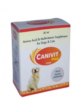 Cqenc Canivit Plus Drops Multivitamin For Dogs And Cat 30ml