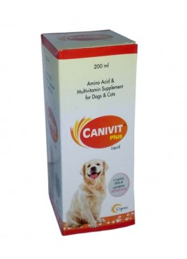 Cqenc Canivit Plus Liquid Multivitamin For Dogs And Cat 200ml