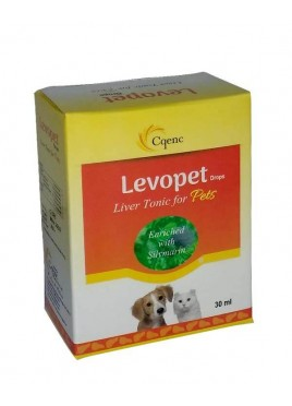 Cqenc Levopet Drops Liver Tonic For Pets 30ml