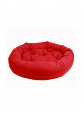 Dog Gone Smart Donut Bed Red-35 Inch