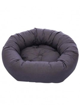 Dog Gone Smart Donut Dog Bed Pebble Grey 35Inch