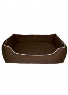 Dog Gone Smart Lounger Beds For Small and Medium Dog Brown (26X14)