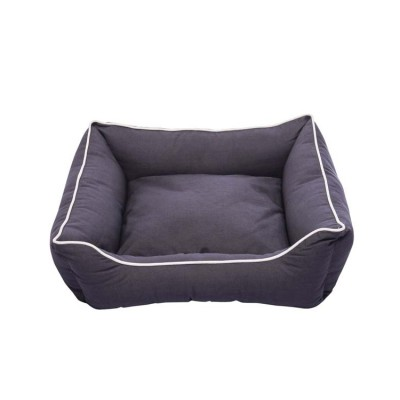 Dog Gone Smart Lounger Beds Pebble Grey Large 32 X 28