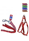 Fekrix Reflective Letter Leash Harness 10mm 48 And 12-16 Inch
