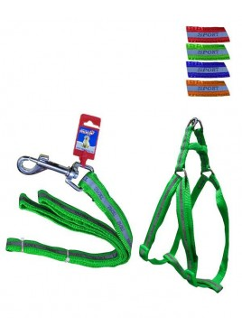 "Fekrix Reflective Letter Leash Harness 15mm 48"" 16-24 Inch"