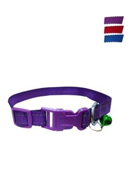 Fekrix 2 Lines Plain Nylon Dog Collar Plug 10mm 12 Inch