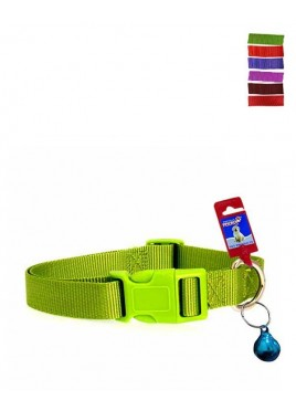 Fekrix 1 Plain Nylon Dog Collar Plug 10mm 12 Inch