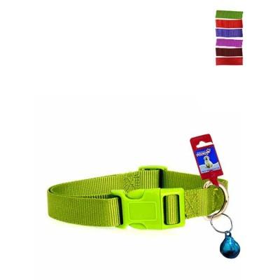 Fekrix 1 Plain Nylon Dog Collar Plug 15mm 16 Inch