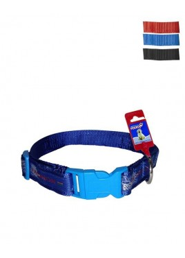 Fekrix Map Nylon Dog Collar Plug 25mm 20 Inch