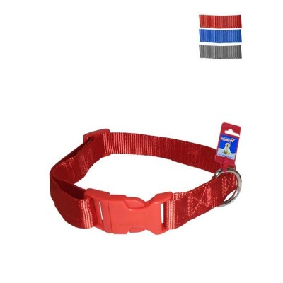 Fekrix 1 Thick Plain Nylon Dog Collar Plug 20mm 18 Inch