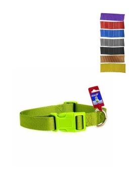 Fekrix 2 Thick Plain Nylon Dog Collar Plug 25mm 20 Inch