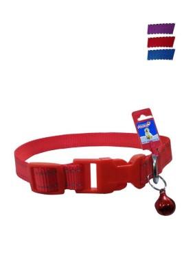 Fekrix 2 Lines Plain Nylon Dog Collar Plug 25mm 20 Inch