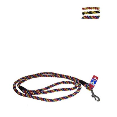Fekrix Pets Multi-Color Nylon Special Rope Leash 13mm 48 Inch