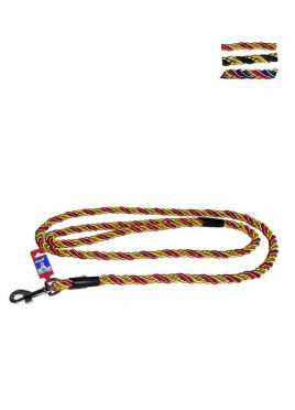 Fekrix Pets Multi-Color Nylon Special Rope Leash 18 mm 48 Inch