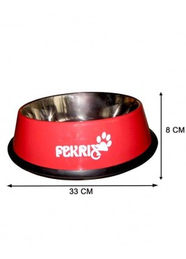 Fekrix Colored Print Dog Bowl Ex. Large 2750ml